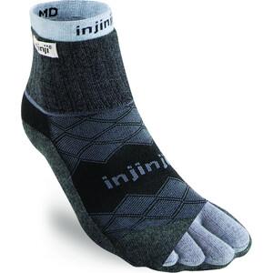 Injinji Liner + Runner Mini-Crew Socken Herren blau/schwarz blau/schwarz