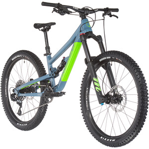 "Norco Bicycles Fluid FS 4.1 24"" Kids blå/grön blå/grön"
