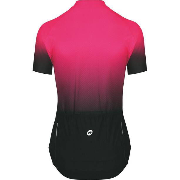 ASSOS UMA GT c2 Shifter Sommer Kurzarm Trikot Damen schwarz/pink