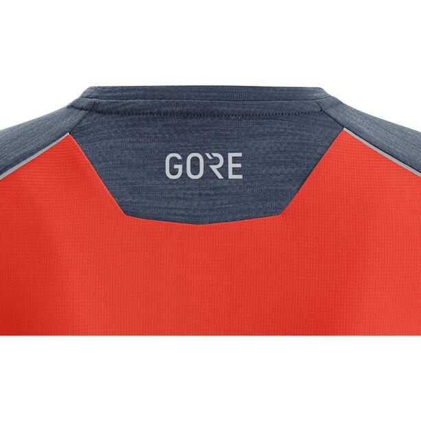 GORE WEAR R3 Shirt Damen blau/orange