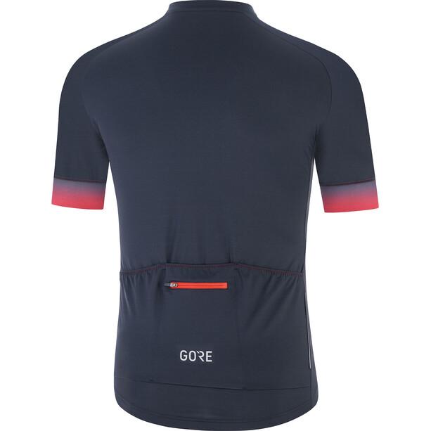 GORE WEAR Cancellara Trikot Herren orbit blue/red