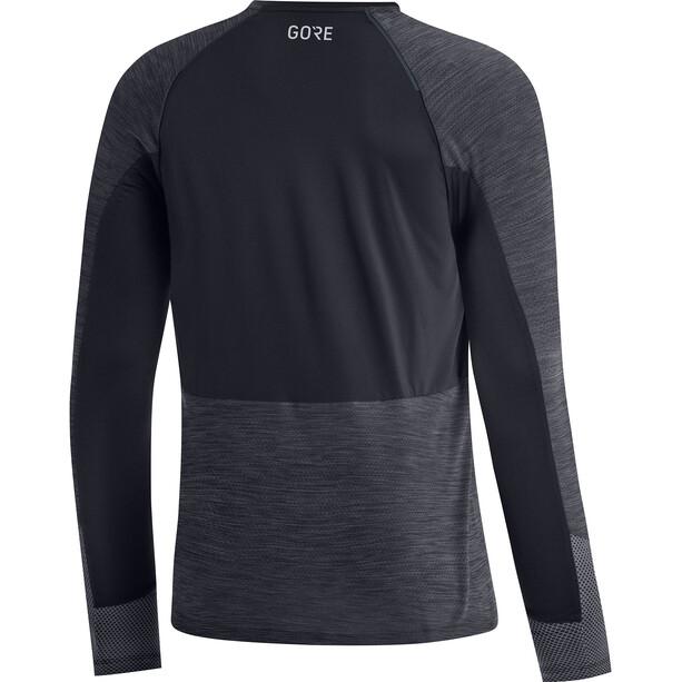 GORE WEAR Avid LS-skjorte Herre grå/svart