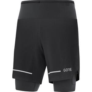 GORE WEAR Ultimate 2in1 Shorts Herren schwarz schwarz
