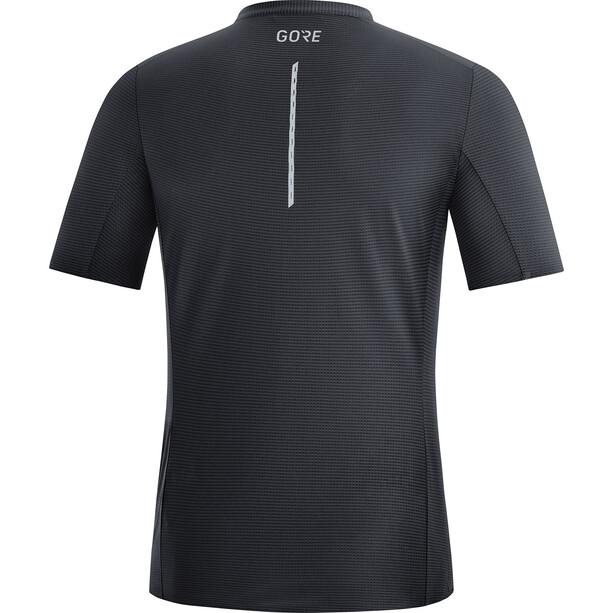 GORE WEAR Contest Zip Shirt Herren black