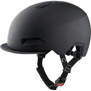 Alpina Brooklyn Helm schwarz schwarz