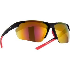 Alpina Defey HR Brille schwarz/rot schwarz/rot
