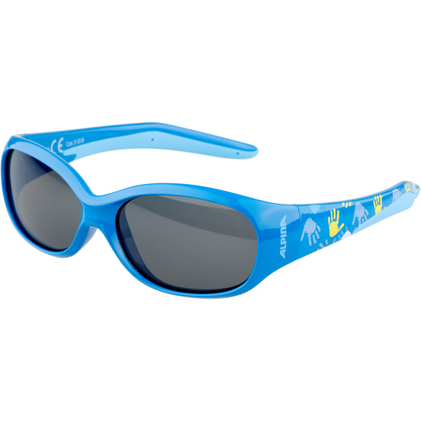 Alpina Flexxy Brille Kinder blau