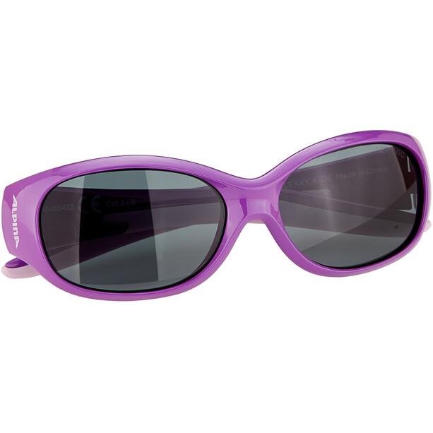 Alpina Flexxy Brille Kinder lila