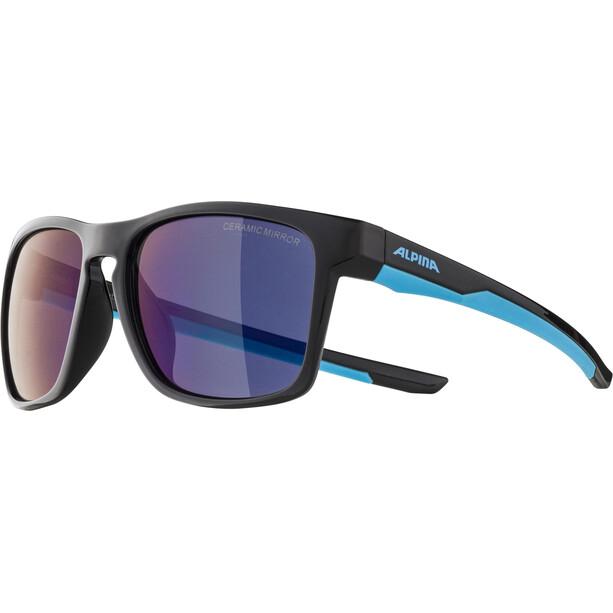 Alpina Flexxy Cool Kids I Brille Kinder black/cyan/blue mirror