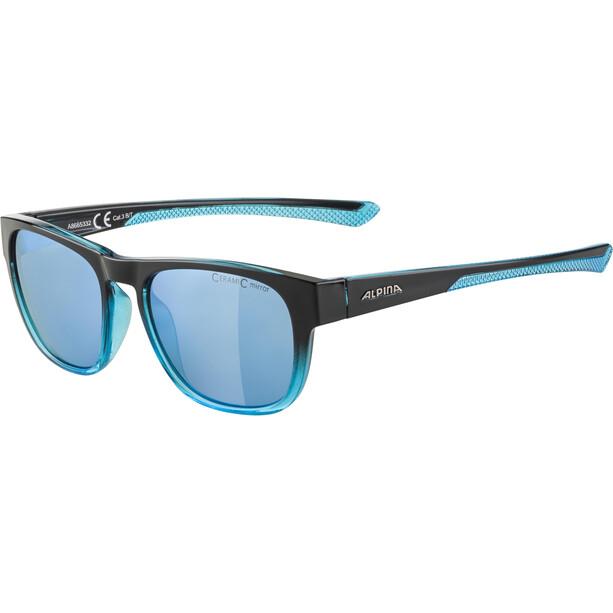 Alpina Lino II Brille black/blue transparent/blue mirror