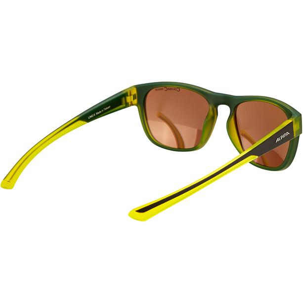 Alpina Lino II Brille schwarz/gelb
