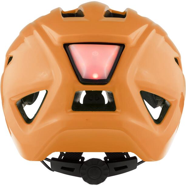 Alpina Pico Flash Helm Kinder neon orange gloss