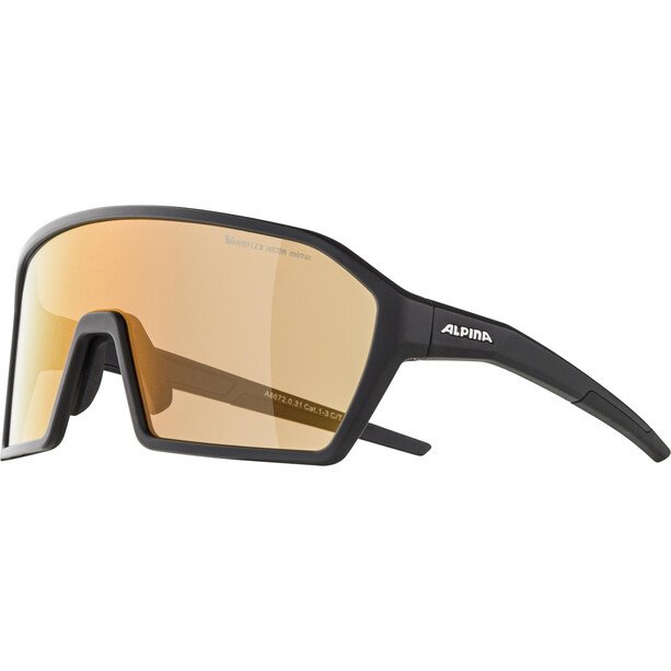 Alpina Ram HVLM+ Brille black matt/red mirror