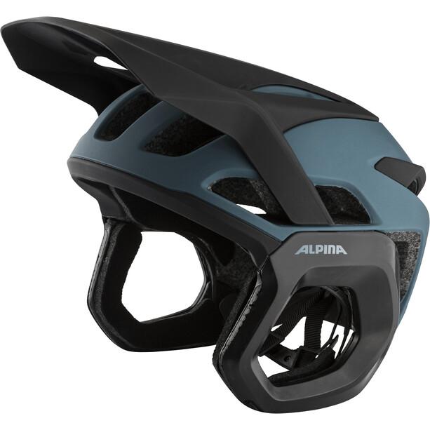 Alpina Rootage Evo Helmet, Bleu pétrole/noir