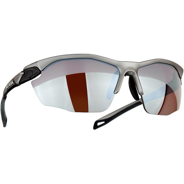 Alpina Twist Five HR HM+ Brille silber