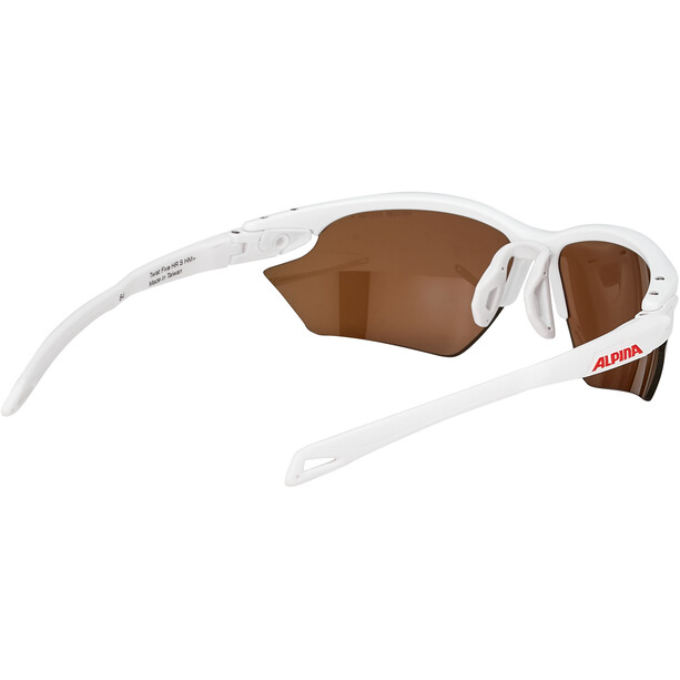 Alpina Twist Five HR S HM+ Brille weiß