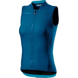 Castelli Anima 3 Sleeveless Jersey Women, bleu bleu