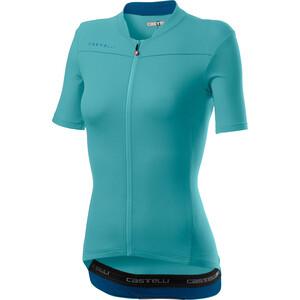 Castelli Anima 3 Kurzarm Trikot Damen celeste/marine blue celeste/marine blue