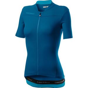 Castelli Anima 3 Kurzarm Trikot Damen marine blue/celeste marine blue/celeste