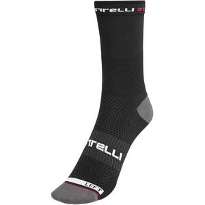 Castelli Rosso Corsa Pro 15 Socks Men, noir noir