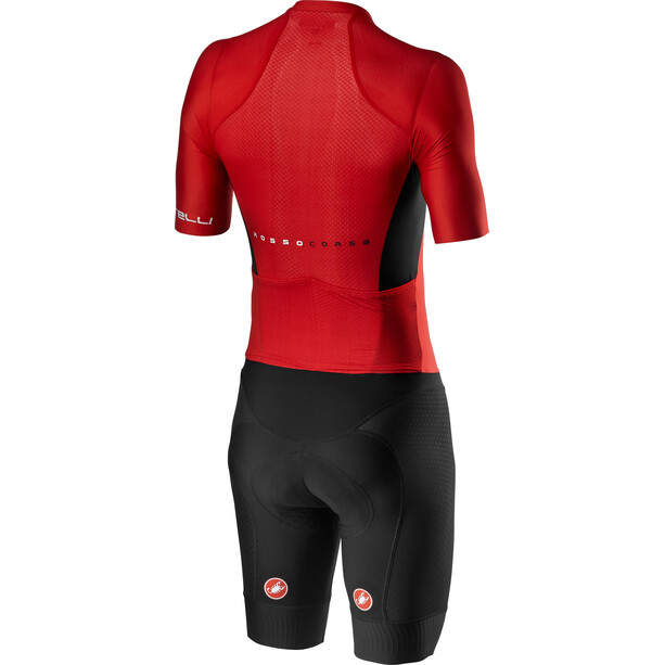 Castelli Sanremo 4.1 Speed Suit Herren schwarz/rot