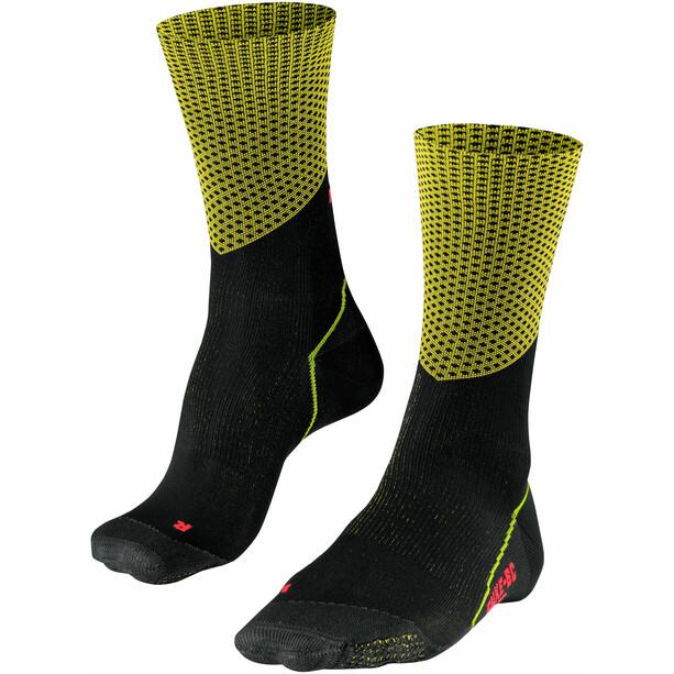 Falke BC Impulse Slope Biking Socks, noir/jaune