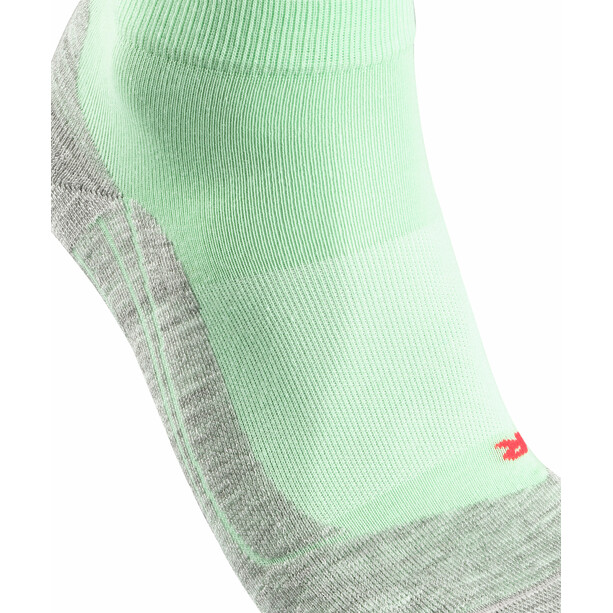 Falke RU4 Short Running Socks Dam grön/grå
