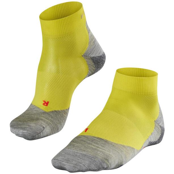 Falke RU 5 Lightweight Short Socks Herr gul/grå