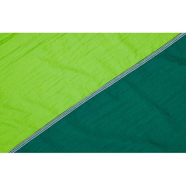 CAMPZ Riippumatto Nailon Ultrakevyt, green/green