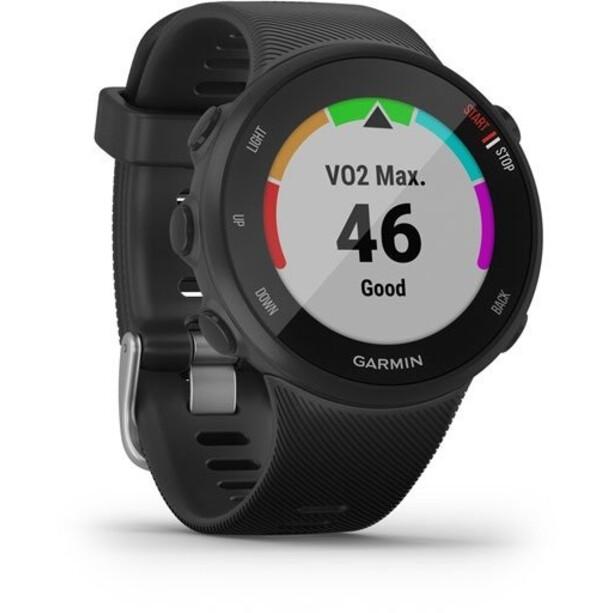 Garmin Forerunner 45S Løbende ur med silikone bånd 18mm, sort