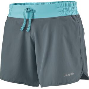 """Patagonia Nine Trails Shorts 6"""" Damen grau grau"""