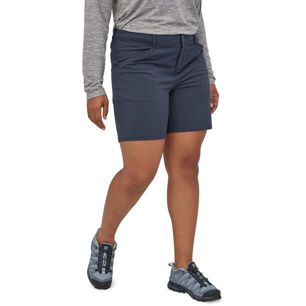 "Patagonia Quandary Shorts 7"" Damen blau"