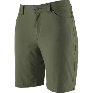 Patagonia Skyline Traveler Pantalones cortos Mujer, verde verde