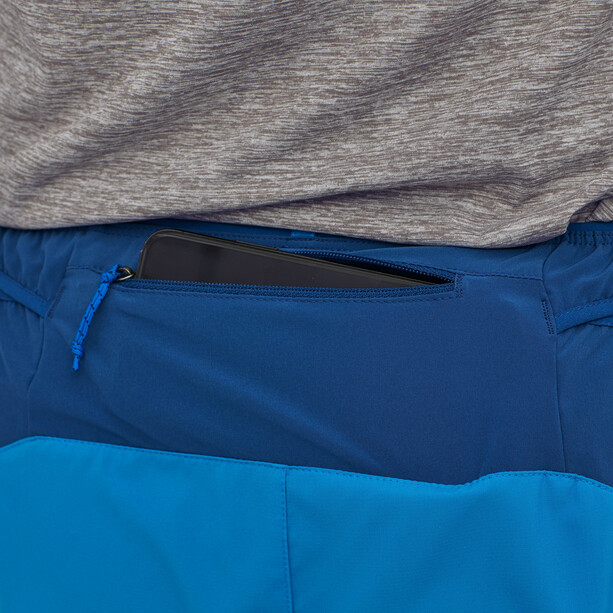 "Patagonia Strider Pro Shorts 7"" Men, andes blue"