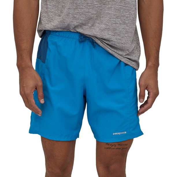 "Patagonia Strider Pro Shorts 7"" Men, andes blue"