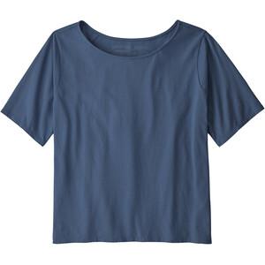 Patagonia Cotton in Conversion T-Shirt Damen blau blau
