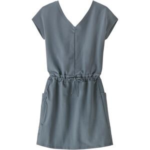 Patagonia Organic Cotton Roaming Dress Women, gris gris