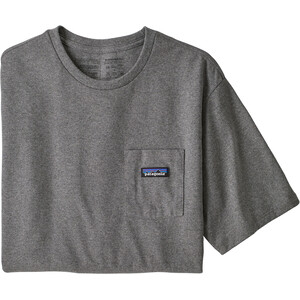 Patagonia P-6 Label Pocket Responsibili-Tee Herren grau grau