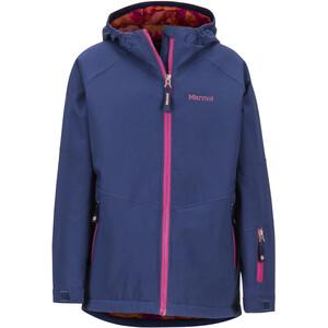 Marmot Refuge Jacket Girls, bleu/rose bleu/rose