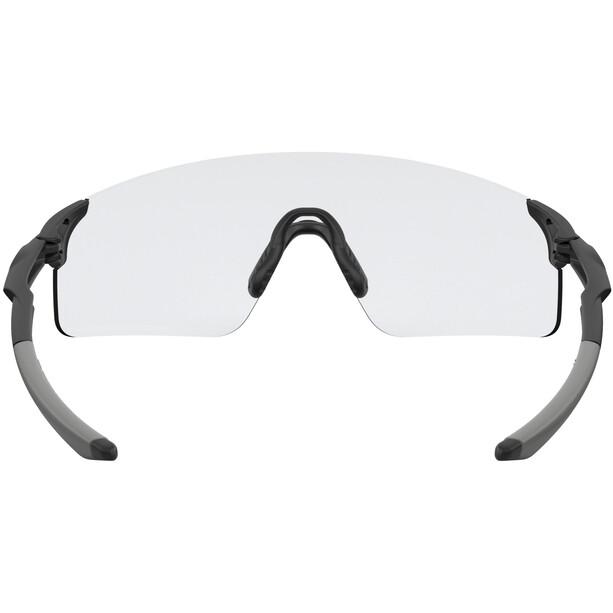 Oakley EVZero Blades Sonnenbrille matte black/clear-black photochromic