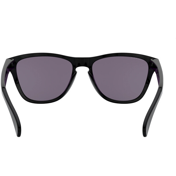 Oakley Frogskins XS Sonnenbrille Jugend polished black/prizm grey