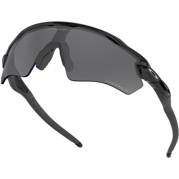Oakley Radar EV XS Path Sonnenbrille Jugend polished black/prizm black polarized