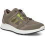 ECCO Exostride Vent Low Shoes Men, harmaa/oliivi