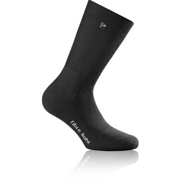 Rohner Fibre Light Quarter Socken black