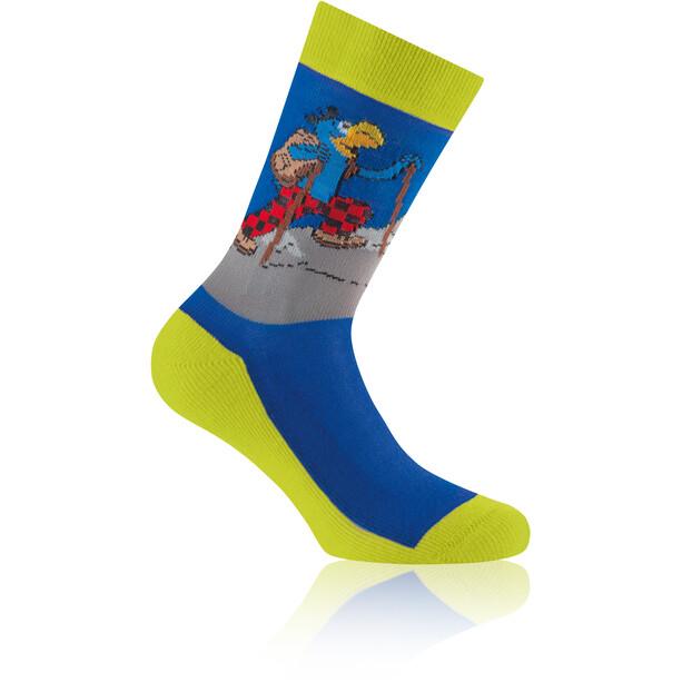 Rohner Globi Trekking Socken Kinder limette