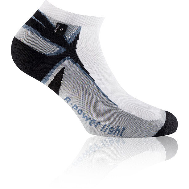 Rohner R-Power Light L/R Socken weiß/blau
