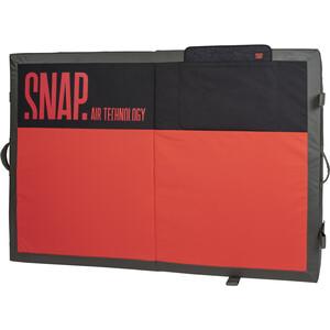 Snap Guts Crash pad, rouge/noir rouge/noir