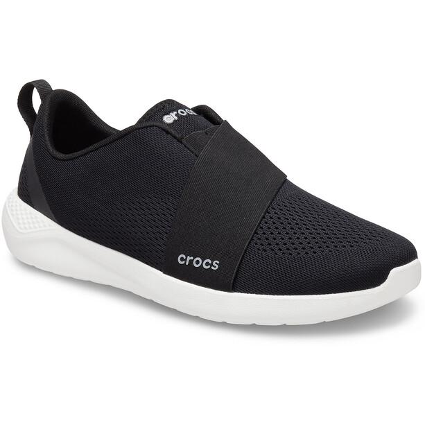 Crocs LiteRide Modform Slip On Shoes Men, musta