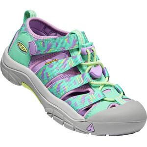 Keen Newport H2 Chaussures Enfant, turquoise/violet turquoise/violet
