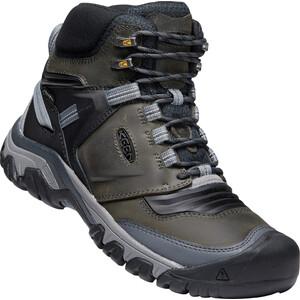 Keen Ridge Flex Mid WP Shoes Men, gris/noir gris/noir